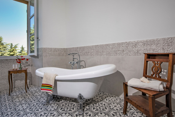 Salle de bain Suite Sémillon - ©Bastide Saint-Esteve