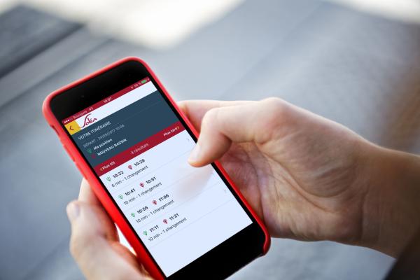 Appli mobile Soléa
