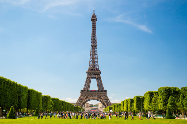 La tour eiffel monuments visiter paris 75007 - Photo de tour eiffel ...