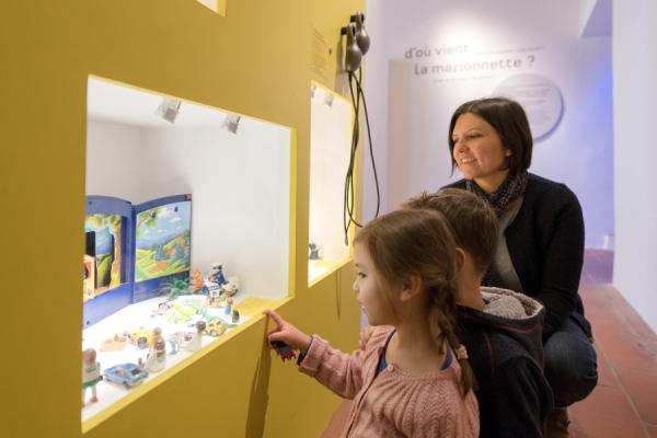 Musée des arts de la marionnette - ©Gadagne - Photo Sabine Serrad