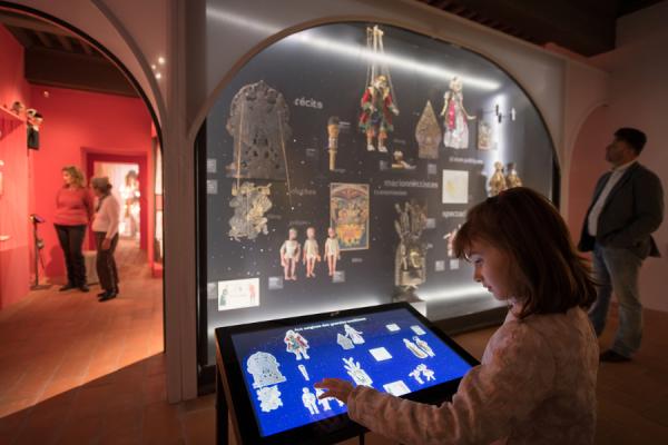 Visite interactive au musée des arts de la marionnette - ©Gadagne - Photo Sabine Serrad