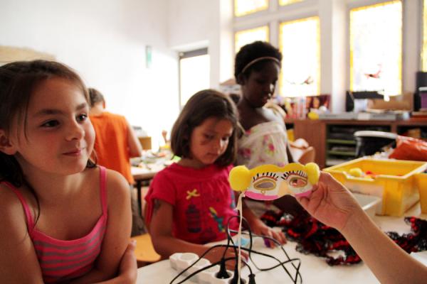 Atelier enfants au musée des arts de la marionnette - ©Gadagne - Photo service communication