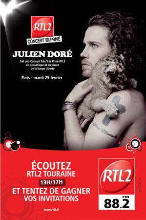 RTL2 TOURAINE (88.2) Radio nationale Tours photo n° 172211