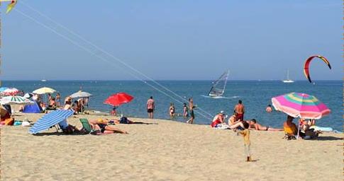 exhib à la plage plan coquin