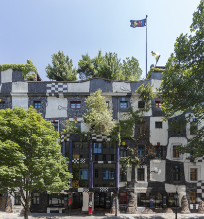 Kunst haus wien museum hundertwasser art moderne vienne for Modernes haus wien