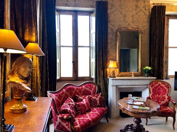 Chambre double luxe - ©Chateau des Alpilles