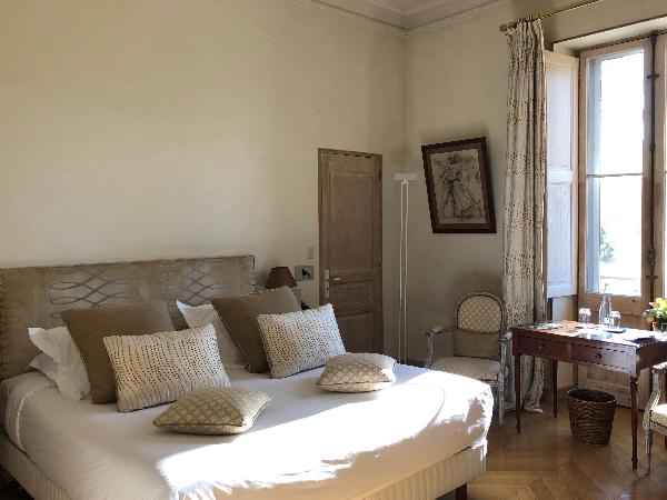 Chambre Double Classique - ©Chateau des Alpilles