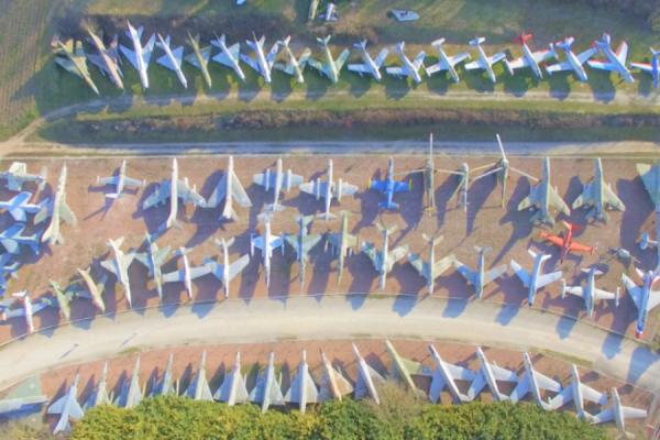 Vue aérienne - ©Château de Savigny-les-Beaune