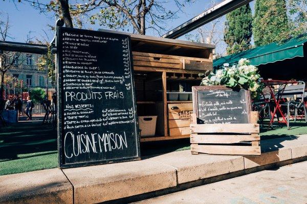 Le jardin d 39 c t restaurant de cuisine fran aise - Restaurant le jardin marseille ...