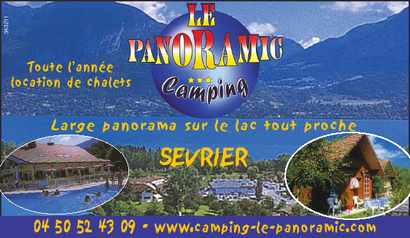 LE PANORAMIC CAMPING Camping Sévrier photo n° 29669 - ©LE PANORAMIC CAMPING