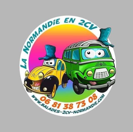 LA NORMANDIE EN 2CV - ©LA NORMANDIE EN 2CV