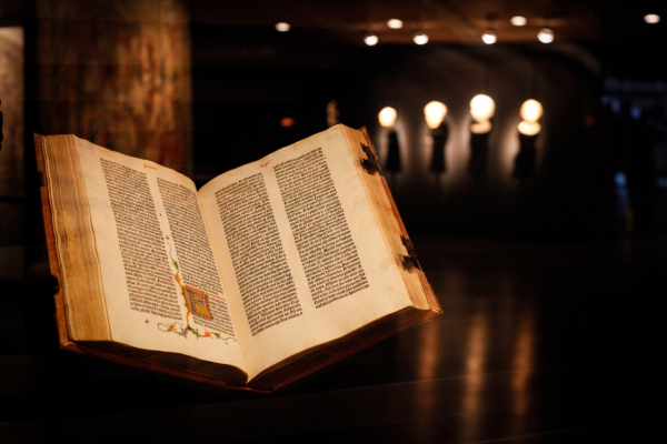 Bible Gutenberg - ©FONDATION MARTIN BODMER