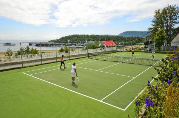 Tennis - ©HÔTEL TADOUSSAC