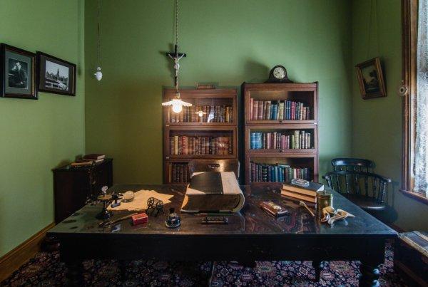 Le bureau - ©MAISON ALPHONSE DESJARDINS