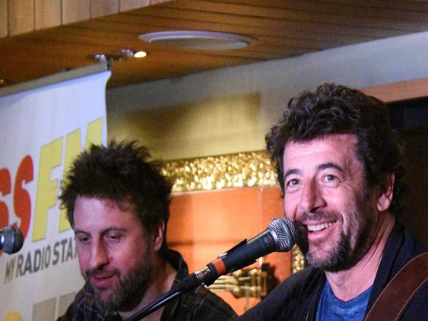 Showcase de Patrick Bruel au Hard Rock Café de Nice - ©Gérald