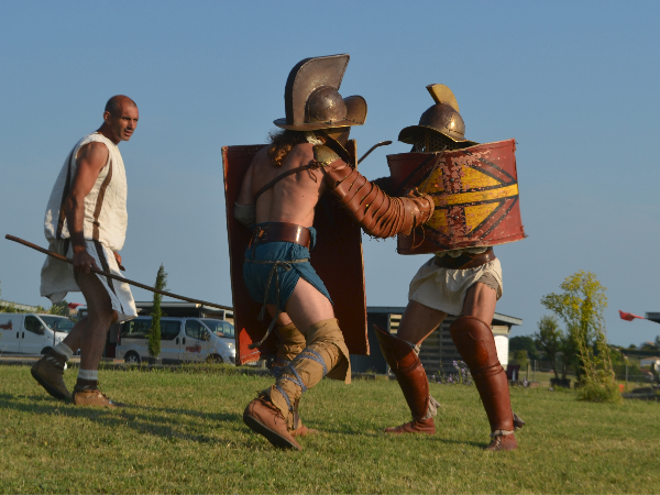 Les gladiateurs d'ACTA - ©A. GUITTON