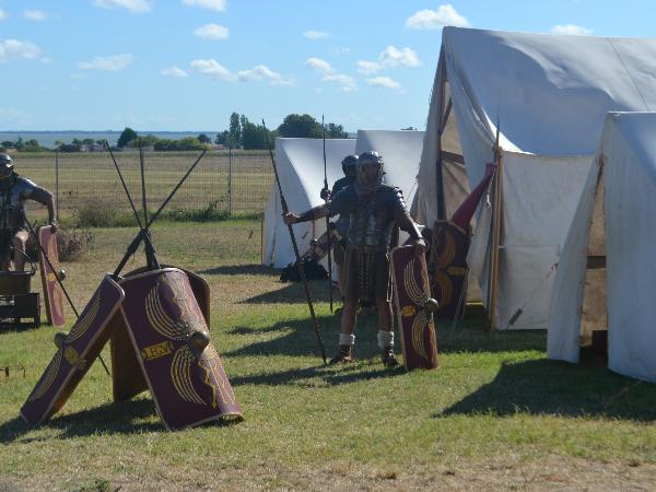 Campement de légionnaires - ©A. GUITTON