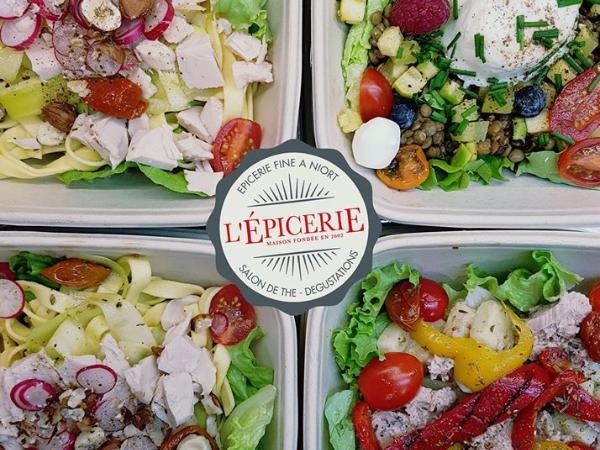 Salades traiteur - ©L'épicerie