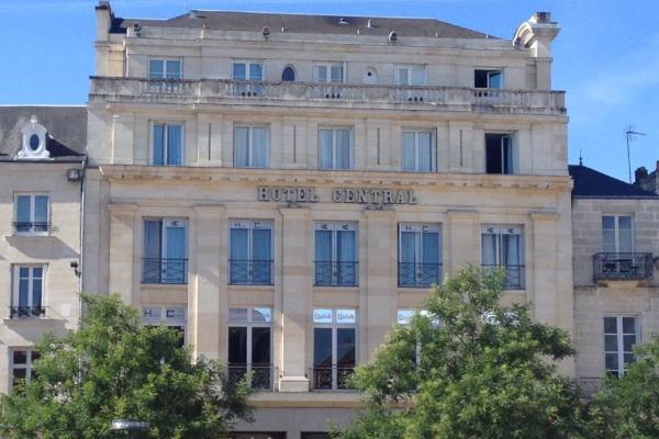 HÔTEL CENTRAL Hôtel Poitiers photo n° 380315 - ©HÔTEL CENTRAL