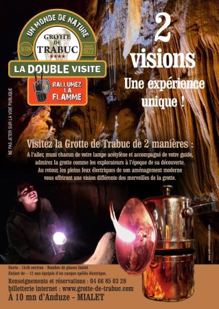 Visite Rétro - ©GROTTE DE TRABUC