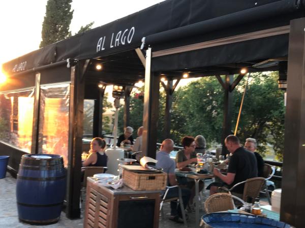 Restaurant terrasse - ©HOTEL RESTAURANTE AL LAGO