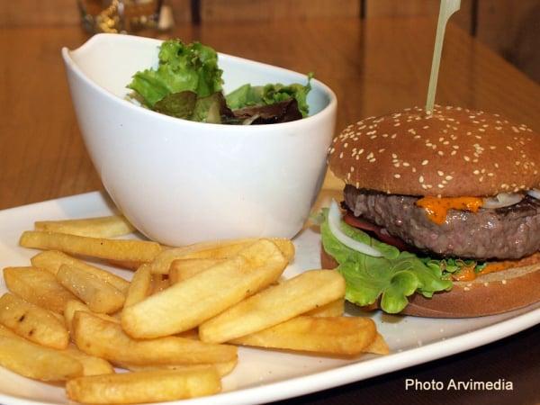 hamburger - ©LA CORDÉE