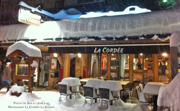 Notre restaurant - ©LA CORDÉE