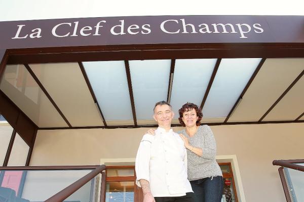 Chef Laurent REY - ©LA CLEF DES CHAMPS