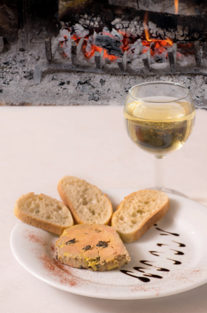 foie gras truffé - ©RESTAURANT LES FUMERONS