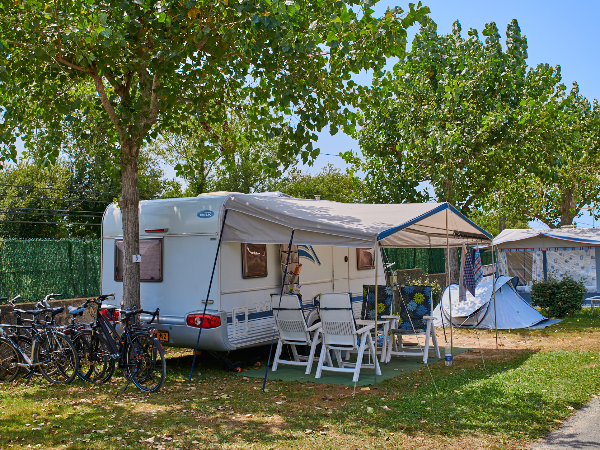 Emplacement Camping - ©Biarritz Camping