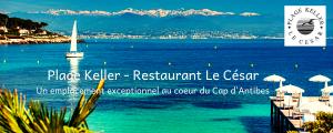 Restaurant le César , plage Keller