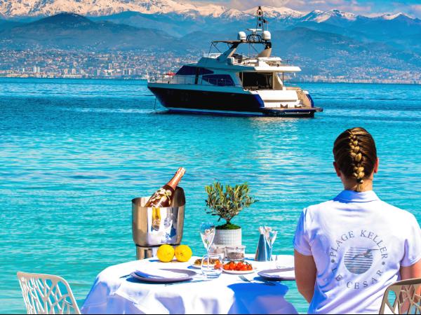 Vue du restaurant de la plage Keller - ©KELLER