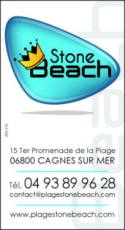 STONE BEACH Restaurant de plage Cagnes-sur-Mer photo n° 52933 - ©STONE BEACH