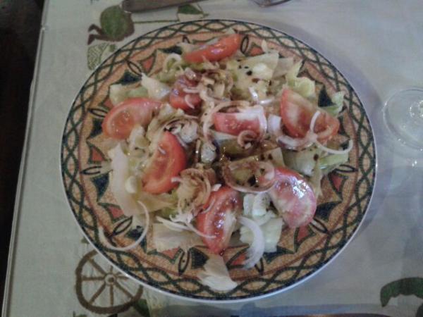 Salade à 7euros