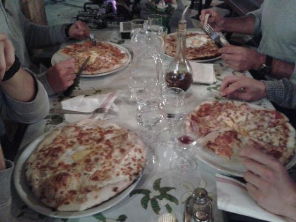 Pizza feu bois