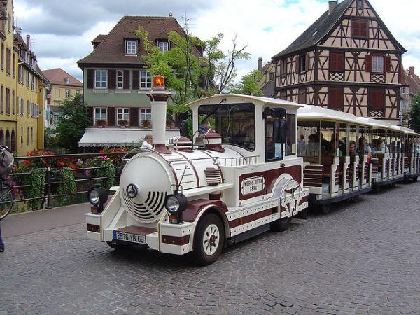 LE PETIT TRAIN BLANC Bus – Petit train Colmar photo n° 92406 - ©LE PETIT TRAIN BLANC