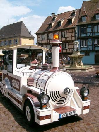 LE PETIT TRAIN BLANC Bus – Petit train Colmar photo n° 92407 - ©LE PETIT TRAIN BLANC