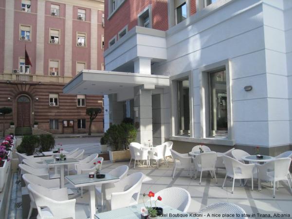 BOUTIQUE HOTEL KOTONI Hotel Tirana Tiranë photo n° 151234 - ©BOUTIQUE HOTEL KOTONI