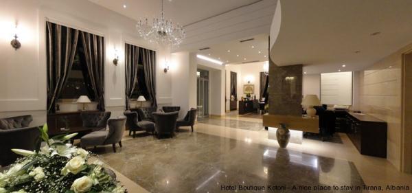 BOUTIQUE HOTEL KOTONI Hotel Tirana Tiranë photo n° 151239 - ©BOUTIQUE HOTEL KOTONI