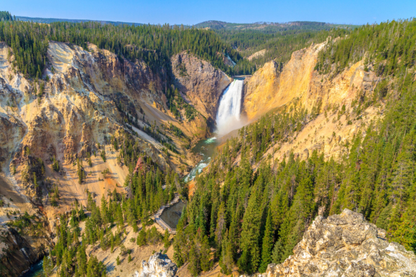 GRAND CANYON OF THE YELLOWSTONE - Nature - Yellowstone National Park