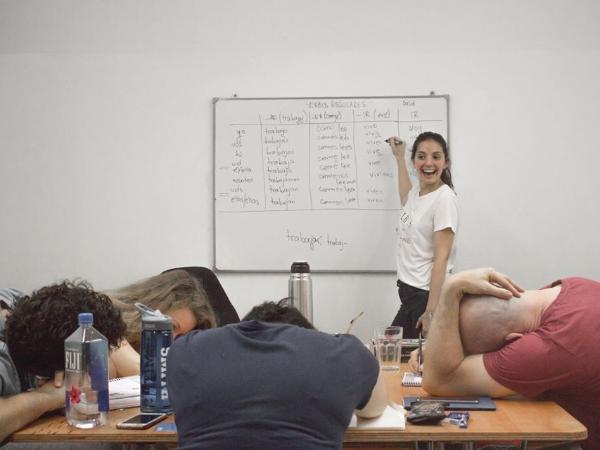 Cours pour etre prof d´espagnol - ©Academia Buenos Aires