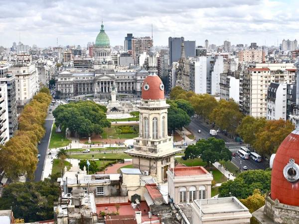 Plaza del Congreso - ©Academia Buenos Aires