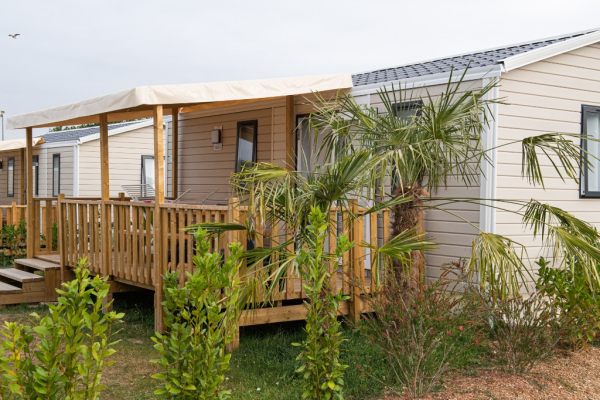 Mobil home - ©CAMPING LE PARADIS