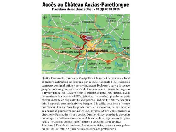 CHÂTEAU AUZIAS - CAVEAU Produits gourmands - Vins Carcassonne photo n° 110476