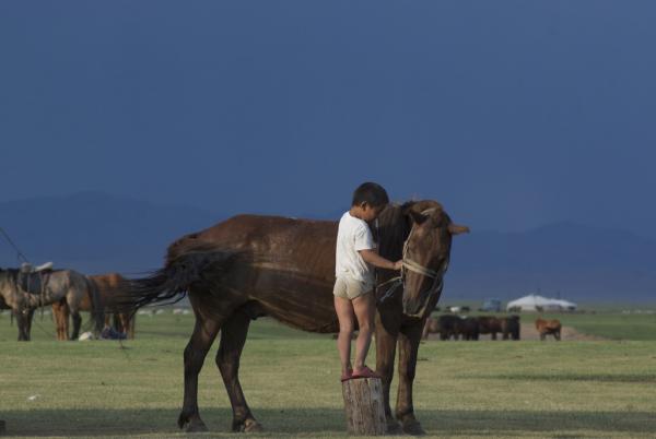 Enfant et Cheval - ©HORSEBACK MONGOLIA