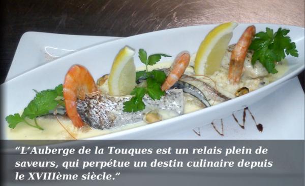 AUBERGE DE LA TOUQUES Cuisine française Pont-l'Evêque photo n° 152861