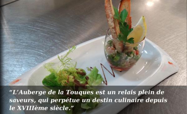 AUBERGE DE LA TOUQUES Cuisine française Pont-l'Evêque photo n° 152860