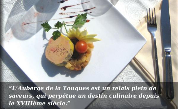 AUBERGE DE LA TOUQUES Cuisine française Pont-l'Evêque photo n° 152859