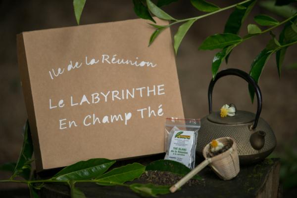 Coffret de thé - ©LE LABYRINTHE EN CHAMP THÉ