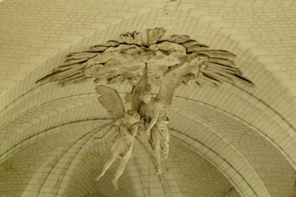 Anges papier mâché